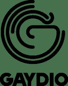 Gaydio stacked black