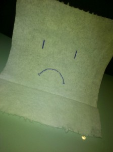 sad toilet paper