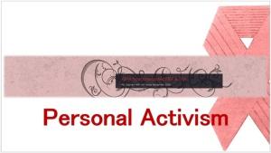 Personal Activism Presentation pic