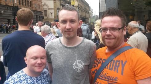 Gavin, Richard and Stuart